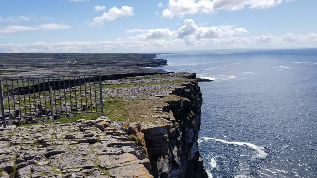 Irish views and sweaters are beautiful - and you needn't travel all the way to the Aran Islands to get them.