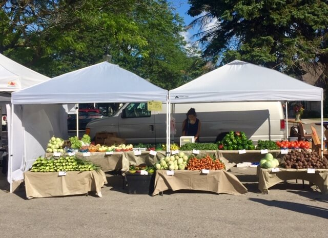 The harvest abounds at Northern Door County's farmers markets.