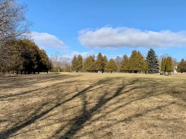 Sister Bay's Bay Ridge Golf Course is open year-round when no snow covers its grass.