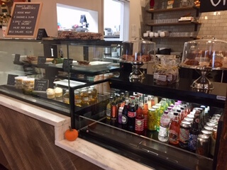 Heirloom Cafe and Provisions' deli case has plenty to discover.