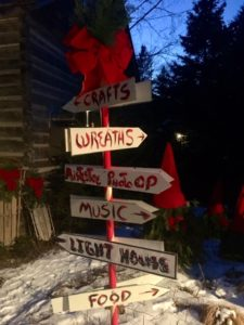 All paths lead to fun and festivity at the Ridges Natural Christmas.