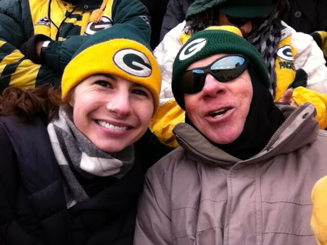Packer game attendees