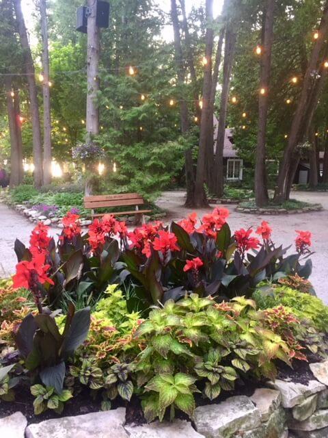 Peninsula Players garden