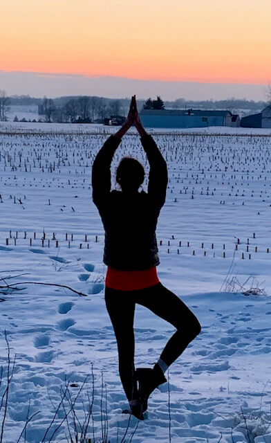 Inner peace and a good sweat are both outcomes of hot yoga in Northern Door.